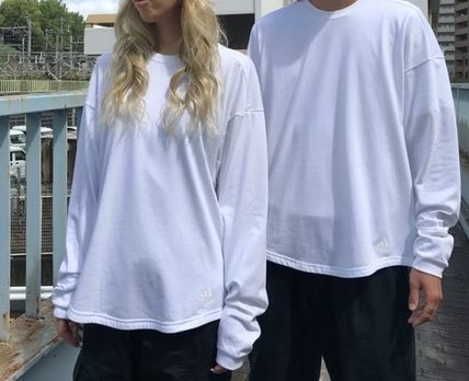 Unisex 街头风格 长袖 Long Sleeve T-shirt 长袖 T 恤