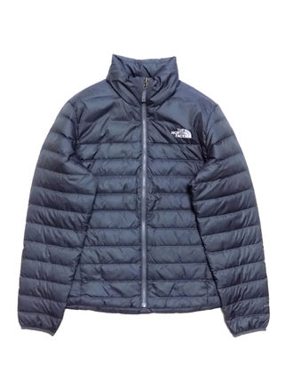 THE NORTH FACE Short Street Style Plain Logo Down Jackets