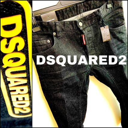 D SQUARED2 Skinny Street Style Cotton Handmade Skinny Jeans