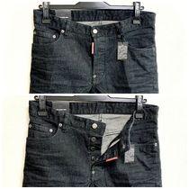 D SQUARED2 Skinny Street Style Cotton Handmade Skinny Jeans 19