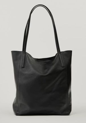 Casual Style Plain Elegant Style Formal Style  Totes