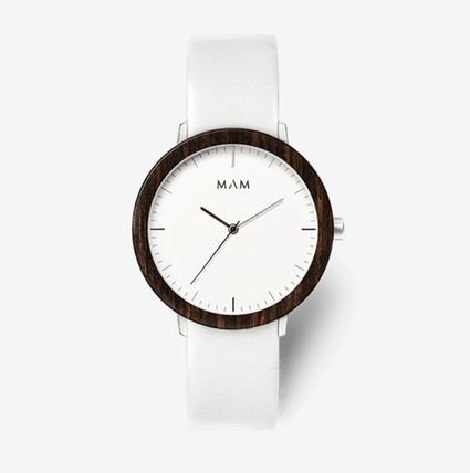 Unisex Blended Fabrics Street Style Quartz Watches