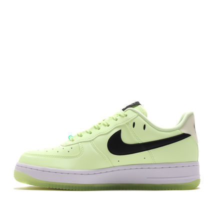 Nike AIR FORCE 1 Street Style Plain Low-Top Sneakers