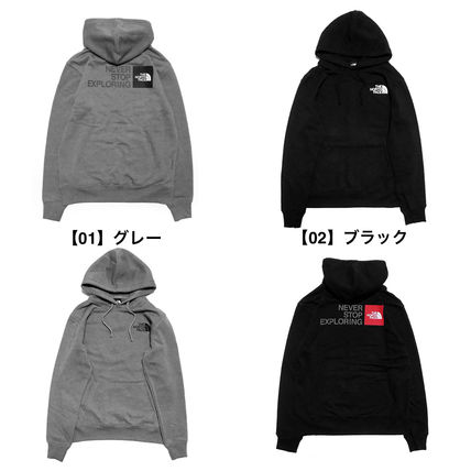 THE NORTH FACE Hoodies Pullovers Unisex Sweat Long Sleeves Plain Logo Outdoor 2