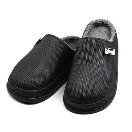 Casual Style Unisex Street Style Plain Logo Slip-On Shoes