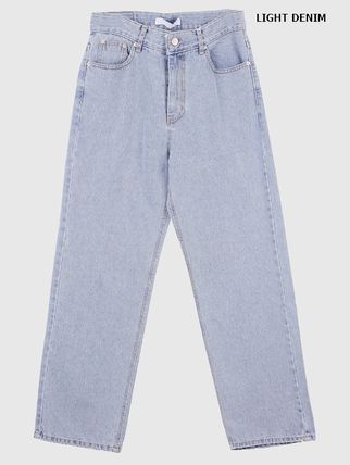 Raucohouse Slax Pants Unisex Denim Street Style Collaboration Jeans