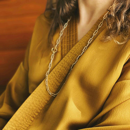 Costume Jewelry Casual Style Chain Handmade 14K Gold