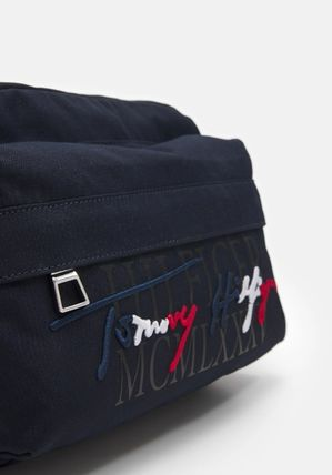 Tommy Hilfiger Crossbody Bag Logo 2WAY Plain Belt Bags