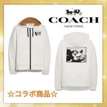 Coach 【Coach x Disney】Mickey Mouse X Keith Haring Full Zip Hoodie