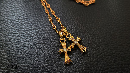 CHROME HEARTS CH CROSS Chain Silver 22K Gold Necklaces & Chokers