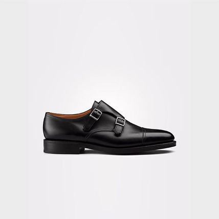 Plain Leather U Tips Oxfords