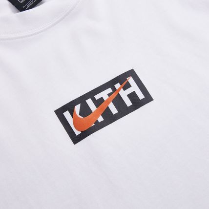 KITH NYC Long Sleeve Pullovers Street Style Collaboration Long Sleeves Cotton 3