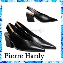 Pierre Hardy Casual Style Plain Leather Elegant Style Pumps & Mules