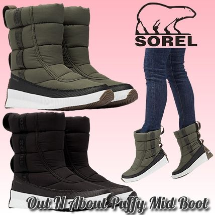 SOREL Rubber Sole Plain Rain Boots Boots