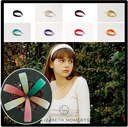 ELIZABETH MOMENTS Casual Style Street Style Hair Accessories