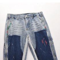 URKOOL More Jeans Denim Street Style Cotton Jeans 5