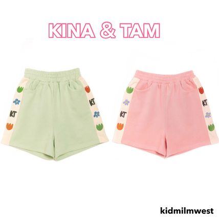 Kina and Tam Denim & Cotton Short Casual Style Cotton Loungewear Denim & Cotton Shorts