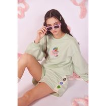 Kina and Tam Denim & Cotton Short Casual Style Cotton Loungewear Denim & Cotton Shorts 6