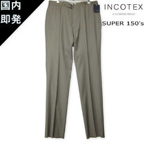 INCOTEX Tapered Pants Wool Tapered Pants