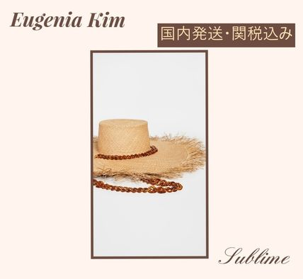 Blended Fabrics Chain Straw Hats