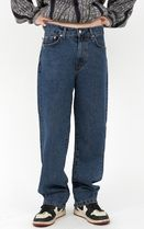 Raucohouse More Jeans Slax Pants Denim Street Style Collaboration Plain Jeans 10