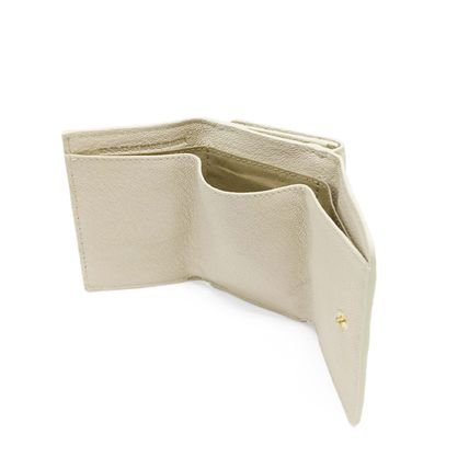 See by Chloe Plain Leather Folding Wallet Small Wallet Accessories