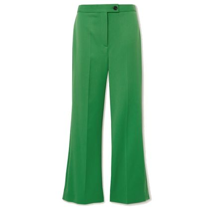 Victoria Beckham Casual Style Plain Long Office Style Elegant Style Culottes