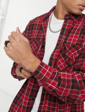 Other Plaid Patterns Long Sleeves Shirts