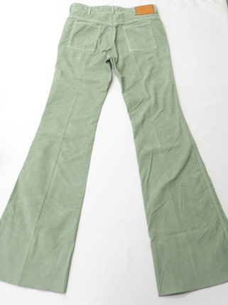 GUCCI GUCCI Classic Flare Pants in green #524362