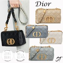 Christian Dior Casual Style 2WAY 3WAY Chain Plain Party Style Office Style