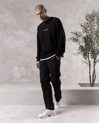 Stampd' LA Sweatshirts Crew Neck Pullovers Street Style Long Sleeves Cotton Logo 3