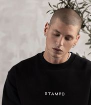 Stampd' LA Sweatshirts Crew Neck Pullovers Street Style Long Sleeves Cotton Logo 4