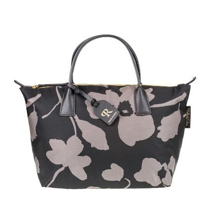 Casual Style Nylon 2WAY Totes