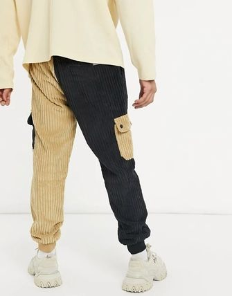 ASOS Tapered Pants Unisex Corduroy Street Style Tapered Pants