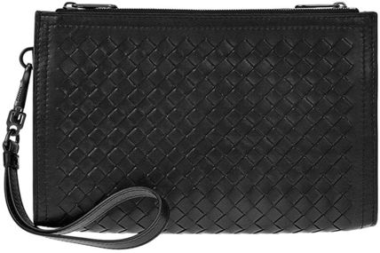 BOTTEGA VENETA Calfskin Plain Clutches