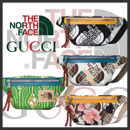 THE NORTH FACE Unisex Street Style Collaboration Logo Belt Bags