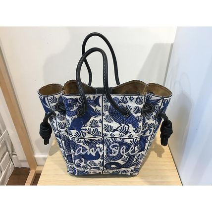 LOEWE Casual Style Office Style Elegant Style Formal Style  Totes