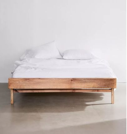 Urban Outfitters Unisex Wooden Furniture Rattan Furniture Bedding
