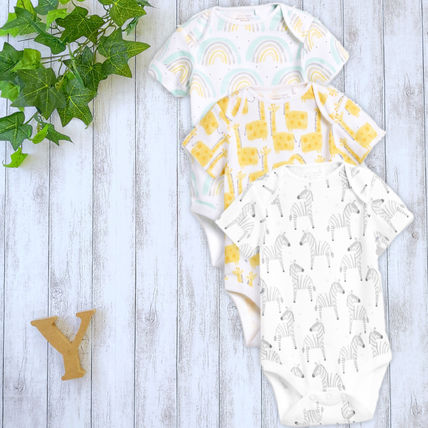 NEXT Co-ord Organic Cotton Baby Boy Bodysuits & Rompers