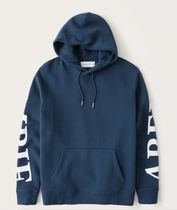 Abercrombie & Fitch Hoodies Long Sleeves Plain Cotton Logo Surf Style Hoodies 4