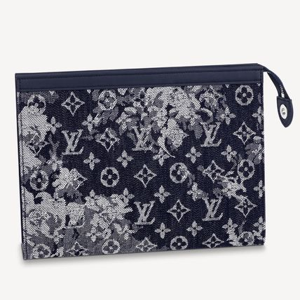 Louis Vuitton MONOGRAM Logo Clutches