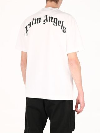 Palm Angels Crew Neck Street Style Other Animal Patterns Cotton