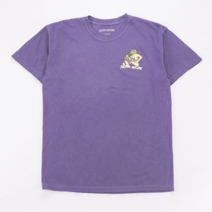 Street Style Cotton Skater Style T-Shirts