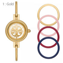 Tory Burch Round Party Style Jewelry Watches Office Style Elegant Style