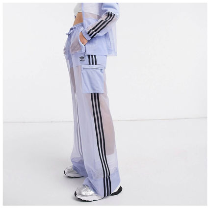adidas Casual Style Street Style Long Sarouel Pants