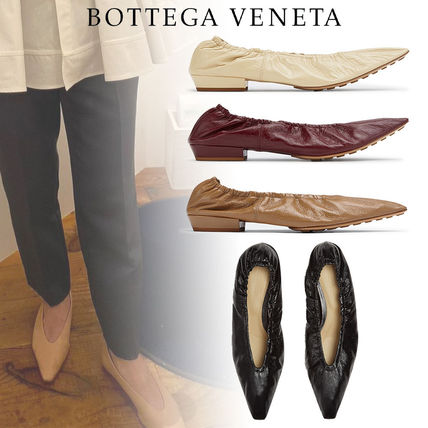 BOTTEGA VENETA Casual Style Plain Leather Party Style Office Style