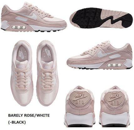 Nike AIR MAX 90 Lace-up Casual Style Street Style Plain Logo