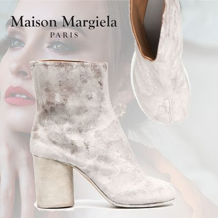 Maison Margiela Tabi Formal Style  Casual Style Leather Block Heels Party Style