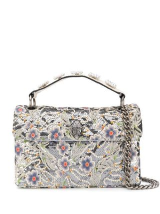 Flower Patterns Casual Style 2WAY Crossbody Formal Style