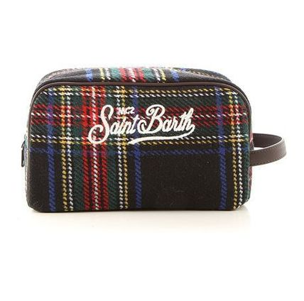 Tartan Casual Style Party Style Elegant Style Clutches
